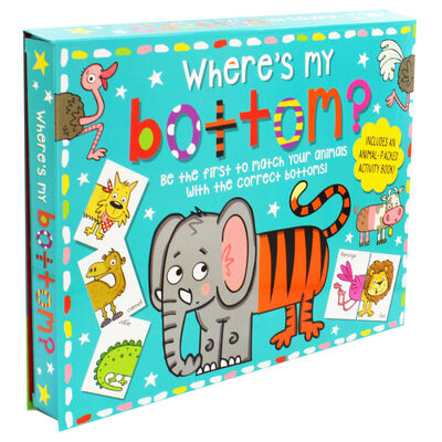 Where's My Bottom?: Activity Set image number 1