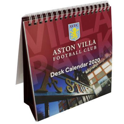 Aston Villa Football Club Desk Calendar 2020 image number 3