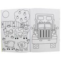 Copy & Colour Book