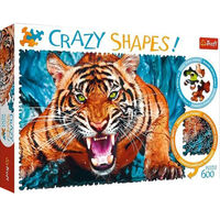 Facing a Tiger 600 Piece Jigsaw Puzzle