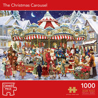 The Christmas Carousel 1000 Piece Jigsaw Puzzle