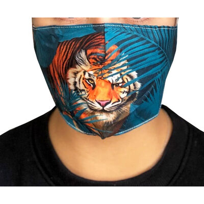 Tiger Reusable Face Covering image number 3
