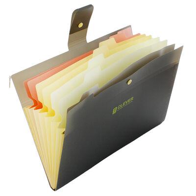 Black 8 Pocket Document Wallet image number 2