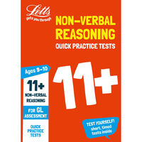 11 Non Verbal Reasoning Quick Practice Tests Ages 9-10