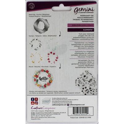 Gemini Elements Die - Spring Wreath image number 2
