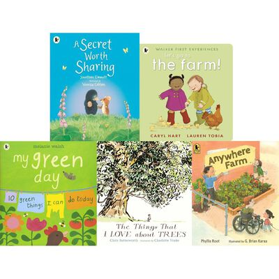 Outdoor World Adventures: 10 Kids Picture Books Bundle image number 3