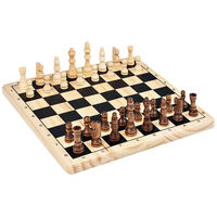 Tactic Wooden Chess Game