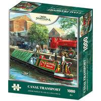 Canal Transport 1000 Piece Jigsaw Puzzle