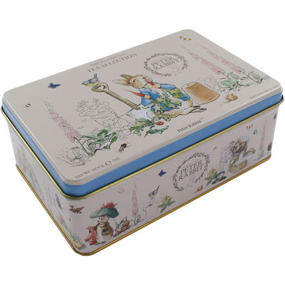Beatrix Potter English Tea Selection Tin - 100 Teabags image number 1