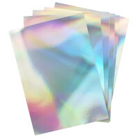 Dovecraft Essentials A4 Holographic Card - 10 Sheets