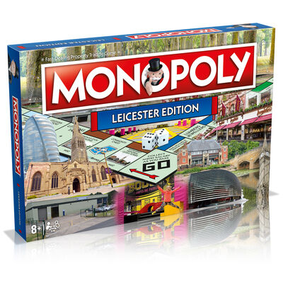 Leicester Monopoly Board Game image number 1