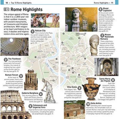 DK Eyewitness Top 10: Rome image number 2