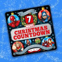 Marvel 7 Days Until Christmas Countdown