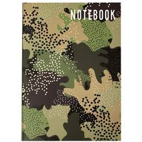 A5 Flexi Camouflage Notebook
