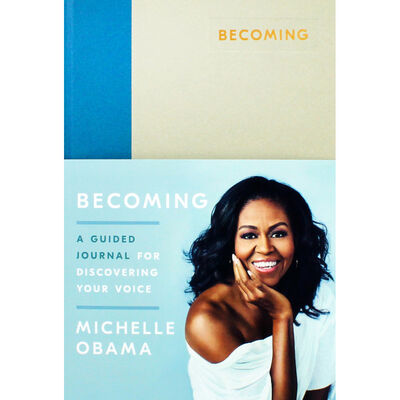 Becoming: A Guided Journal for Discovering Your Voice image number 1