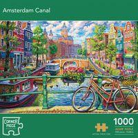 Amsterdam Canal 1000 Piece Jigsaw Puzzle