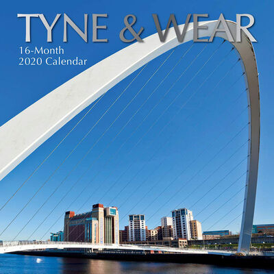 Tyne and Wear 16-Month 2020 Calendar image number 1