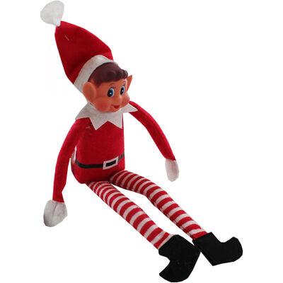 Vinyl Faced Elf Toy image number 1