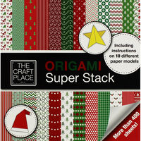Christmas Origami Super Stack