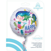 18 Inch Mermaid Helium Balloon