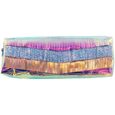 Large Iridescent Pencil Case image number 1