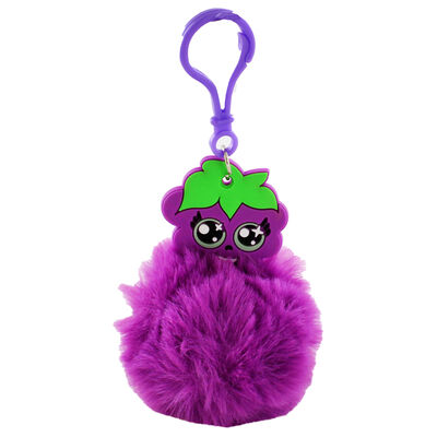 Fruitopia Scented Pom-Pom Key Chain - Assorted image number 3
