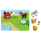 Farmyard Chunky Wooden Puzzle image number 2