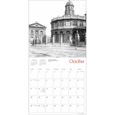 Oxford Heritage 2020 Wall Calendar image number 2