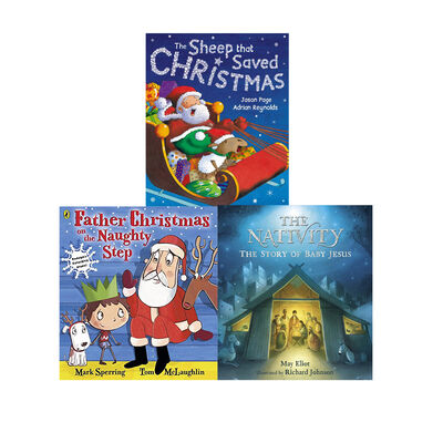 Christmas-Time Friends: 10 Kids Picture Books Bundle image number 3