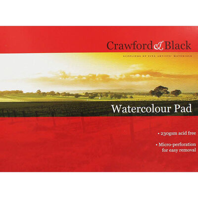 Crawford And Black Watercolour Pad image number 1