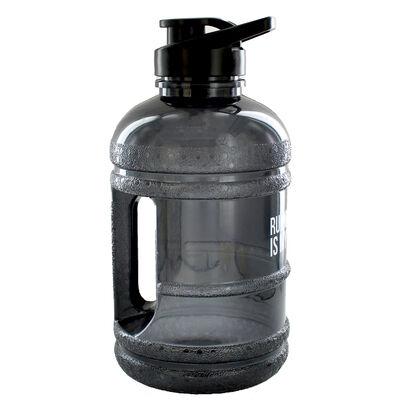 Black Running Late 1.8 Litre Water Bottle image number 2
