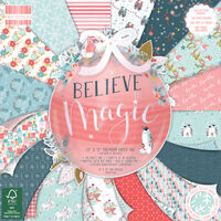 Believe in Magic Premium Paper Pad - 12x12 Inch
