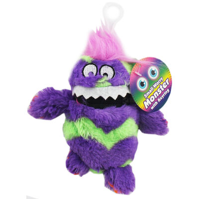 Small Worry Monster Keyring - Assorted image number 1