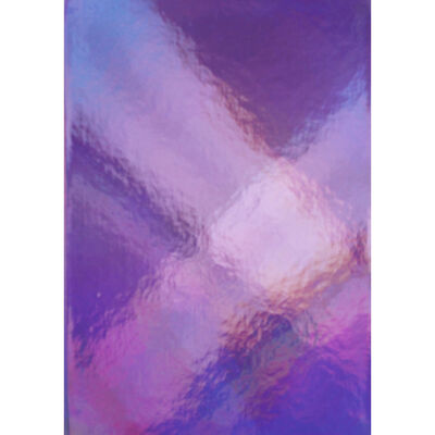A5 Casebound Pink Iridescent Lined Notebook image number 1
