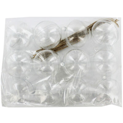 Fill Your Own Baubles - 12 Pack image number 1