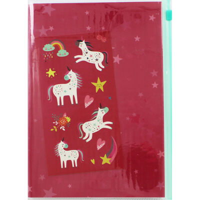 A5 Unicorn Customise Your Own Notebook image number 1