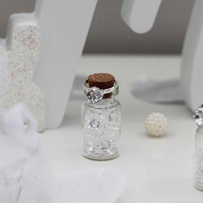 Mini Craft Glass Bottles - 50 Pack image number 4