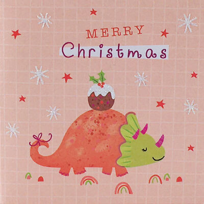 Dinosaur Christmas Cards: Pack Of 20 image number 2