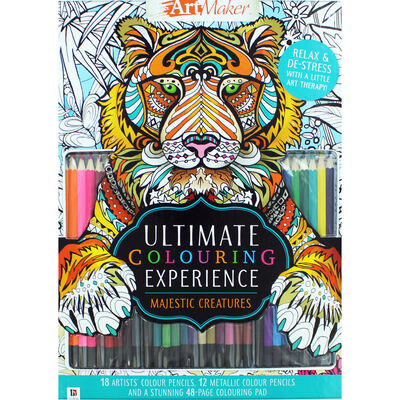 Ultimate Colouring Experience - Majestic Creatures image number 1