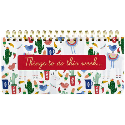 Llama Adventure Wiro Weekly Planner image number 1
