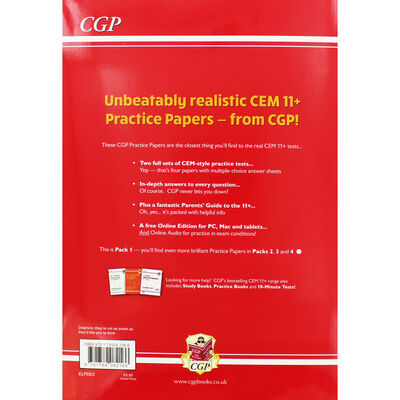 CGP 11+ Practice Papers: Verbal Reasoning Comprehension Maths and Non-Verbal Reasoning image number 3