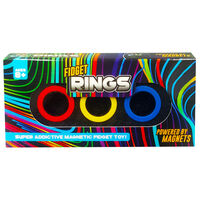 Magnetic Fidget Rings: Pack of 3 Assorted