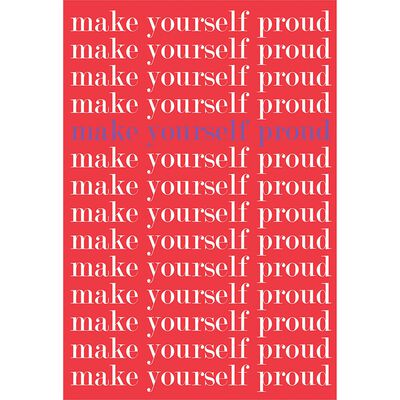 A5 Flexi Make Yourself Proud Notebook image number 1