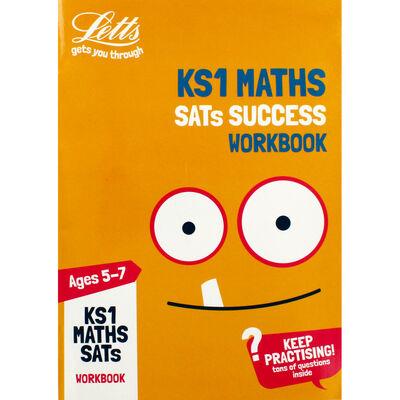 Letts KS1 Maths SATS WB image number 1