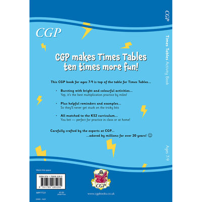 Times Table Activity Book: Ages 7-9 image number 3