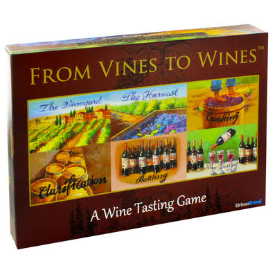 From Vines To Wines Adult Learning Board Game image number 1