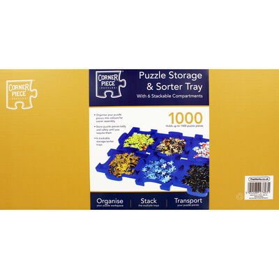 Jigsaw Puzzle Storage and Sorter Tray image number 4