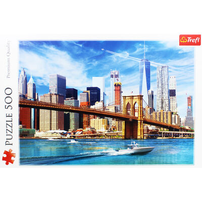 View Of New York 500 Piece Jigsaw Puzzle image number 2
