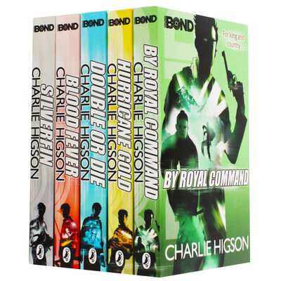 Young Bond: 5 Book Collection image number 1