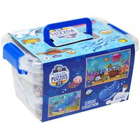 Sealife 2-in-1 Jigsaw Puzzle with Carry Case